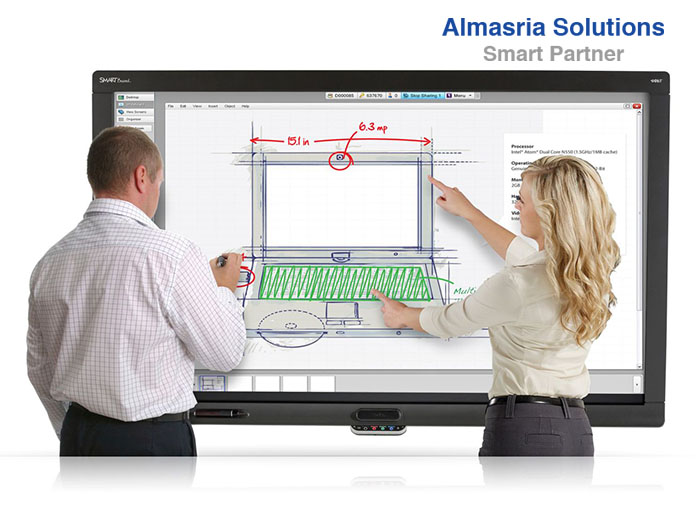 Interactive Whiteboard السبورة التفاعلية استخداماتها ومميزاتها