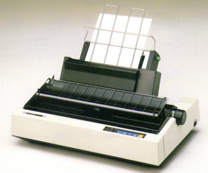 طابعة Daisy-Wheel-Printer
